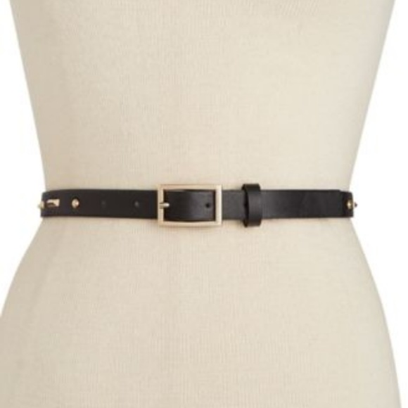 LOT OF 2 INC Braided Stretch Panel Faux-Leather Waist Belt L//XL Natural NWT